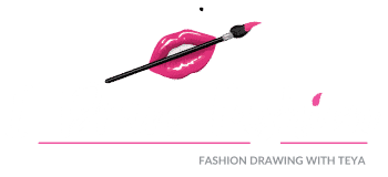 logo-white i draw fashion – fashion drawing tutorials for beginners with teya